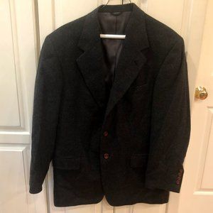 Vintage Perry Ellis Camel Hair Sport Jacket 40R
